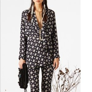 Figue Anika Star Print Kimono